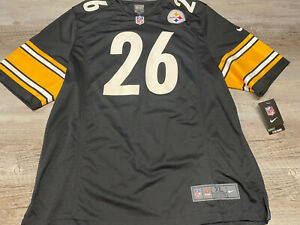 Nike Pittsburgh Steelers Jersey #26 Bell NWT Men's Size XL Black
