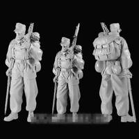 1/16 Resin Figure Model Kit German Soldier Officer WWII WW2 Unpainted Unassamble