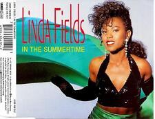 LINDA FIELDS - In the summertime CDM 3TR Eurodance Euro Disco 1992 Germany