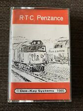 R.T.C Penzance - Dee-Kay Systems 1985 Sinclair ZX Spectrum Train Simulator RTC