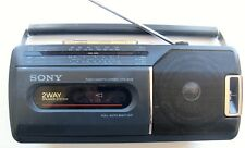 Sony CFM-140SII FAM/AM/SW Shortwave Cassette Portable Radio 110/220V