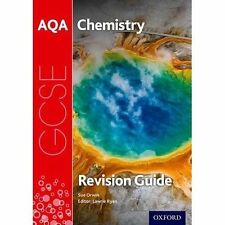 AQA GCSE Chemistry Revision Guide, Paperback; Ryan, Lawrie; Orwin, Sue, Science