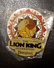 Disneyland Cast Member 50th The Lion King Celebration Pin MINT IN BAG