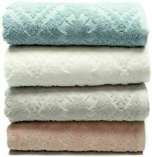Allure Soft Absorbent Hand-Woven Jacquard 100% Cotton Hand Bath Towels Bathroom