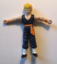 "1989 Dragon Ball Z RARE 3.5"" PVC Mini Figure: Super Saiyan GOHAN! Blue Ghee"