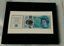 UK £5 Polymer Bank Note in Presentation Box Limited Edition Stamp