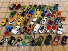 Matchbox Hotwheels Racecars Diecast Cars Trucks Lot 47 Used Free Shipping