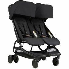 Mountain Buggy Nano DUO Double Stroller In Black Brand New!! Free Shipping!!