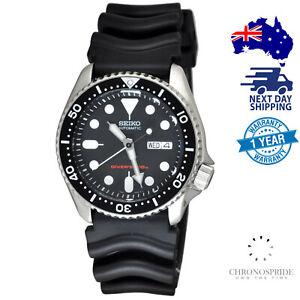 SEIKO Diver SKX007 SKX007K1 Automatic 200m Rubber Strap Mens Watch