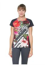 Desigual Sport-Kollektion Shirt *TS_FR T-S SHORT SLEEVE B*  blanco   Gr. L