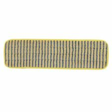 More details for rubbermaid pulse mop scrubber pad in blue microfibre 10 pack
