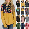Women's Hoodie Sweatshirt Hooded Sweater Pullover Long Sleeve Casual Jumper Top