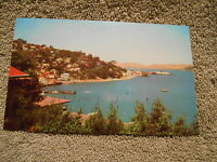 VINTAGE - POST CARD - SAUSALITO CAL