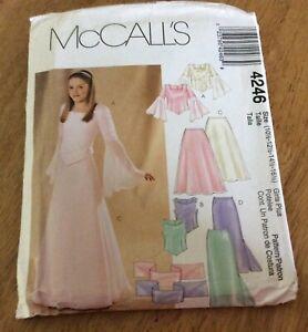 McCall's  Girl's Multi sized Dress Pattern