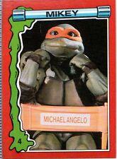 "MICHAELANGELO 1991 ""TEENAGE MUTANT NINJA TURTLES II"" CARD # 4"