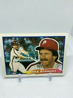 1988 Topps BIG #88 Mike Schmidt PHILLIES HOF'er baseball card NM/MT