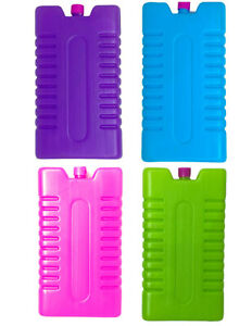 Ice Blocks Reusable Freezer Cool Box Pack Cooler For Picnic Travel Lunch STRONG