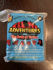 """Wendy's Kid's Meal """"Adventures From the Book of Virtues"""" Jigsaw Puzzle NIP"""