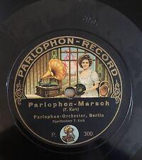 """RARE 78RPM 12"""" PARLOPHON RECORD PARLOPHON MARSCH/TANNHAUSER WAGNER EINZUGSMARSCH"""