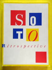 Catalogue d'Exposition Jesus Rafael Soto rétrospective 1992