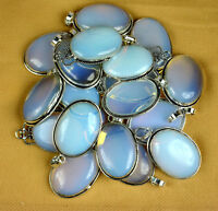 Natural Opalite Gemstone 925 Sterling silver overlay pendant wholesale lot
