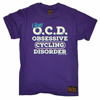 OCD Obsessive Cycling Disorder T-SHIRT tee jersey funny birthday gift present