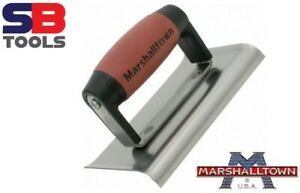 """Marshalltown Cement Concrete Edger 6""""x3"""" Hand Tool Curved edging trowel M136D"""