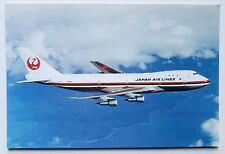 JAL Japan Air Lines Boeing 747-146 Postcard
