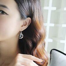 Fashion Women Rhinestone Crystal Pea Dangle Drop Hook Earrings Ear Stud