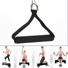 2Pcs Pull Handles Resistance Bands Foam Replacement Equipment For Yoga Black