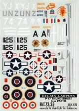 COLORADO DECALS 1/72 Republic P-47D/M Thunderbolt # 72028