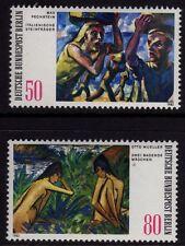 Germany Berlin 1982 Paintings SG B640/B641 MNH