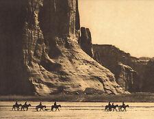EDWARD CURTIS Indian Tribe CANON DE CHELLY Native American Photo Book Print