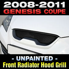 Front Radiator Hood Grill UNPAINTED For HYUNDAI 2009 - 2012 Genesis Coupe
