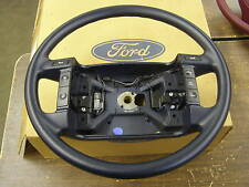 NOS OEM Ford 1991 Lincoln Continental Dark Blue Steering Wheel F1OY-3600-A