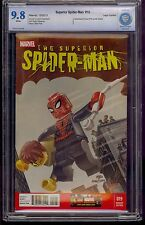 SUPERIOR SPIDER-MAN #19 CBCS 9.8 LEGO VARIANT AMAZING FANTASY #15 COMIC KINGS