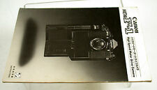 Instructions Anleitung CANON New F-1 F1 N Highspeed vintage or Copy 29 Euro !!