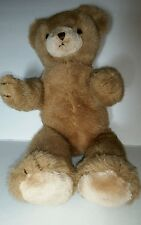 "Schmid Musical Teddy Bear Gordon Fraser Jointed Brown Plush Wind Up 1984 14"""
