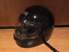 RAIDER Black Full Face Snowmobile  ATV Motorcycle Helmet A-622  Small