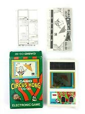 Circus Kong Casio CG-30 Electronic Game and Watch System Japan