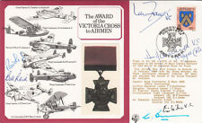 The  Award of the Victoria Cross to Airmen Signed 6 Victoria Cross Holders