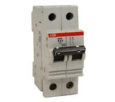 ABB S272-K6A Circuit Breaker 6A 2P 480VAC S272-K6 New