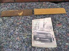 Il LIBRO DELL'ABBAZIA DI CAPRI & RARA mk1 FORD CAPRI finitura effetto legno di noce 1600gt