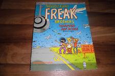 Shelton/Mavrides -- Fabulous Furry Freak Brothers en un desastre en eje // 1987