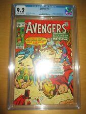 * AVENGERS 83 CGC 9.2 * 1st APPEARANCE VALKYRIE Liberators - MCU Marvel Thor