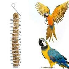 Stainless Steel Parrot Food Fruits Feeder Basket Holder Bird Cage Feeding Device
