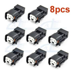 8PCS Fuel Injector Connector Adapter LS1 EV1 to EV6 EV14 USCAR LS2 LS3 LSX LT1