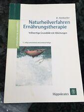 Naturheilpraktiker Buch -Naturheilverfahren in der Ernährungstherapie *Medizin*