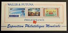 Francobollo WALLIS E FUTUNA Stamp - Yvert e Tellier Blocco n°4 n (COL9)
