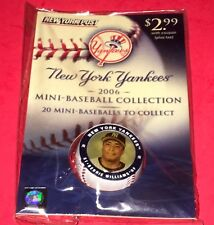 2006 Bernie Williams Mini Baseball Collection New York Post NEW